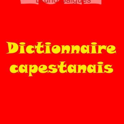 Dictionnaire capestanais