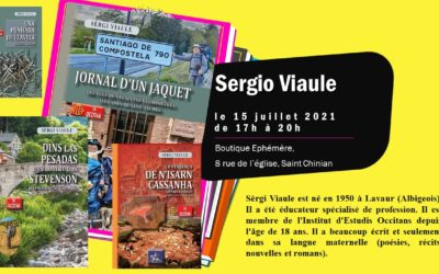 Sergi Viaule viendra signer ses livres à la boutique éphémère