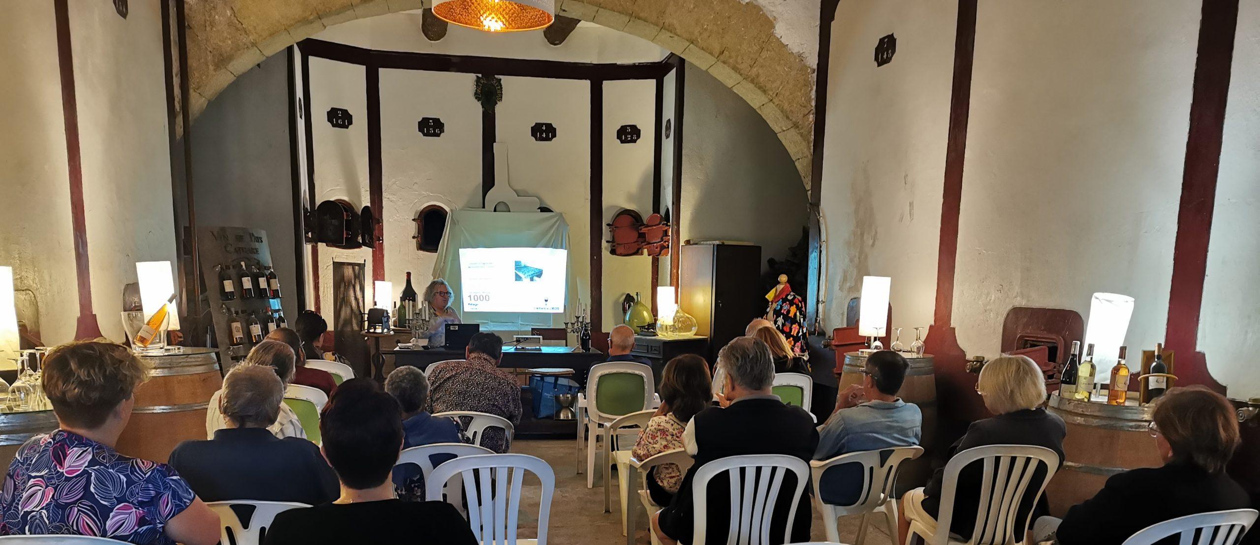 Public et conferencier